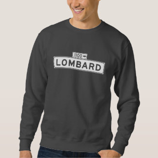 Lombard-St., San Francisco Straßenschild Sweatshirt