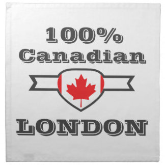 London 100% serviette