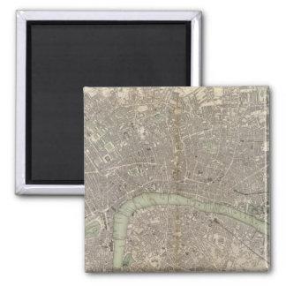 London 1843 quadratischer magnet