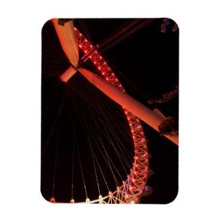 """London-Auge nachts 3"""""""" Magnet x4"""