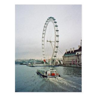 London-Augen-Postkarte Postkarte