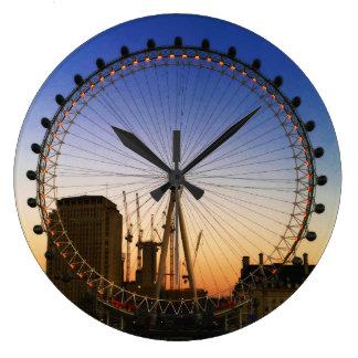 London-Augenkreis Wanduhr