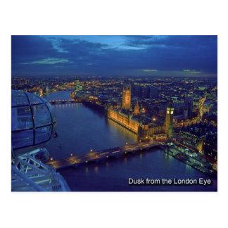 London-Augenpostkarte