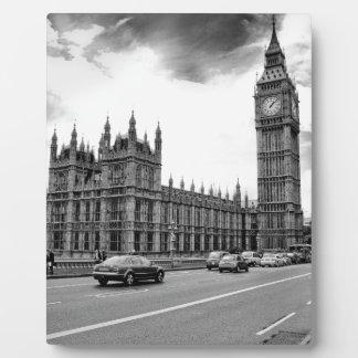 London Big Ben Fotoplatte