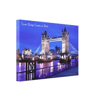 London-Bild für EinwickelnLeinwand Leinwanddruck