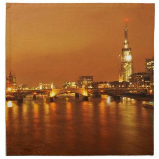 London bis zum Nacht Serviette