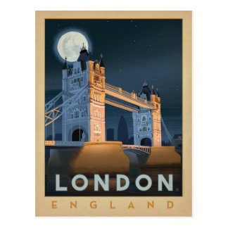 London-Brücke | England Postkarte