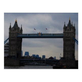 London-Brücke Postkarte