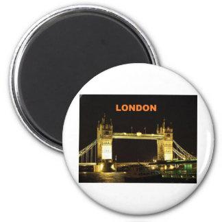 London-Brücke (St.K) Runder Magnet 5,1 Cm