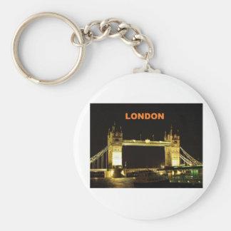 London-Brücke (St.K) Standard Runder Schlüsselanhänger