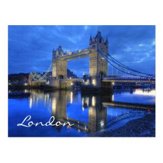 London-Brücken-Postkarte Postkarte