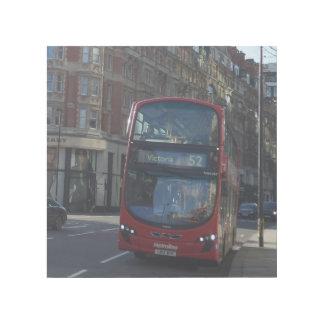 "London-Bus 12"""" Verpackung der Galerie-X12 Galerieleinwand"