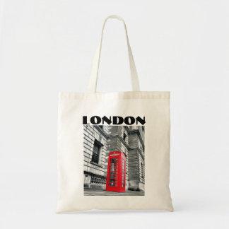 London, das Taschen-Tasche nennt Budget Stoffbeutel