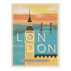 London - die Quadratmeile Postkarte