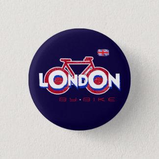 London Durchfahrrad Runder Button 2,5 Cm