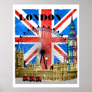 London England Big Ben Poster