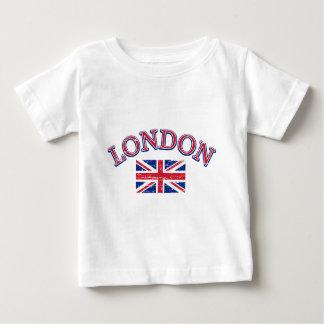 London-Gewerkschafts-Jack-Entwurf Baby T-shirt