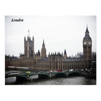 London-Karten Postkarte