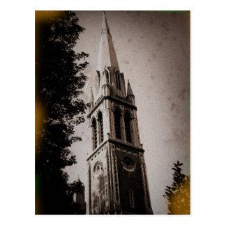 London-Kirchesteeple-Postkarte Postkarte