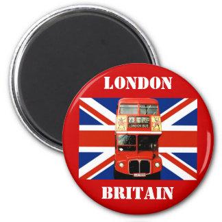 London-Kühlschrankmagnet Runder Magnet 5,1 Cm