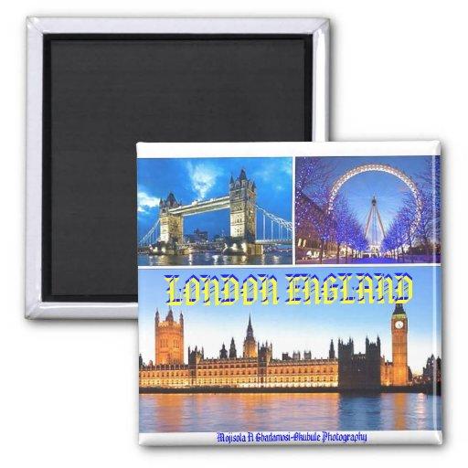 LONDON-Magnet Kühlschrankmagnete