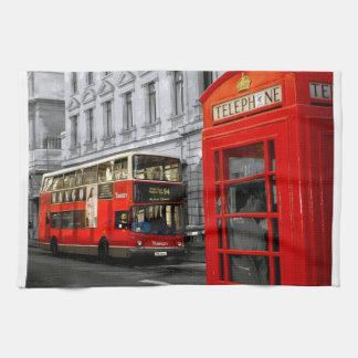 London mit einer Touch der Farbe Handtuch