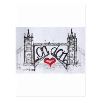 London mit Liebe Postkarten