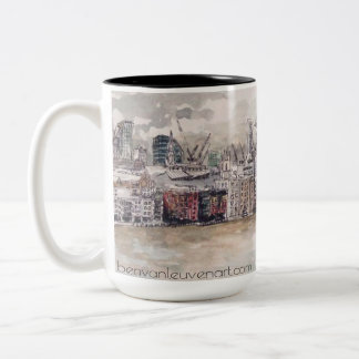 London Mug Zweifarbige Tasse