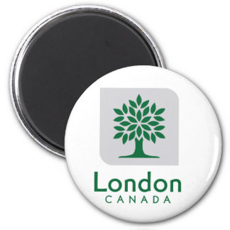 London, Ontario-Flagge Kühlschrankmagnet