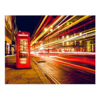 London phonebooth postkarte