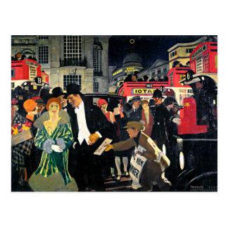 London, Piccadilly Postkarte