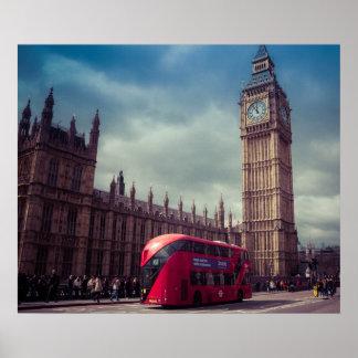 London-Plakat Poster