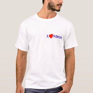 London red heart T-Shirt