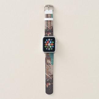 London-Sehenswürdigkeit-Vintages Foto Apple Watch Armband