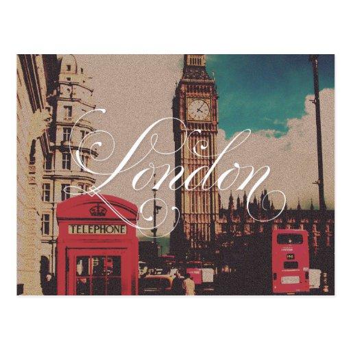 London-Sehenswürdigkeit-Vintages Foto