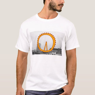London-Sehenswürdigkeiten - London-Auge T-Shirt