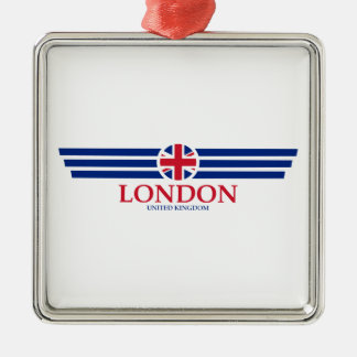London Silbernes Ornament