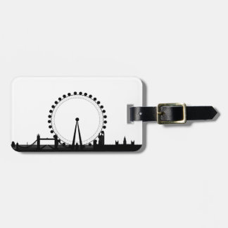London-Skyline Gepäckanhänger