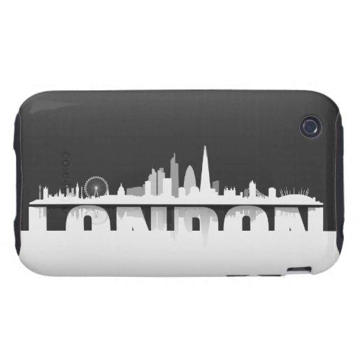 London Skyline iPhone 3 Schutzhülle / Case iPhone 3 Tough Hülle