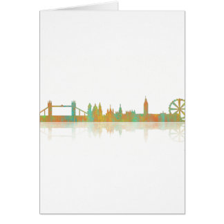 London-Skyline Karte