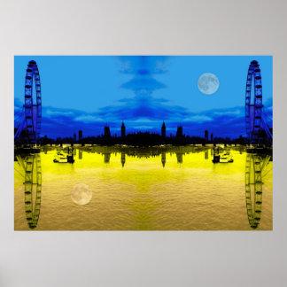 London-Skyline Poster