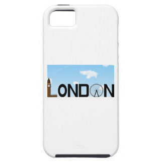 London-Skyline-Tageszeit Etui Fürs iPhone 5