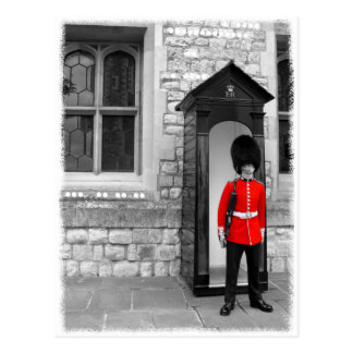 London-Soldat-Paradepostkarte Postkarte