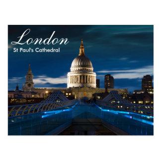 London- - St Paulkathedralenpostkarte Postkarte