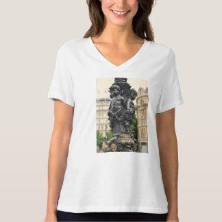 London-Stadt-Lampen-Posten T-Shirt