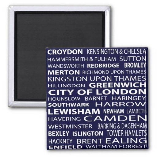 London-Stadt-Magnet Magnets