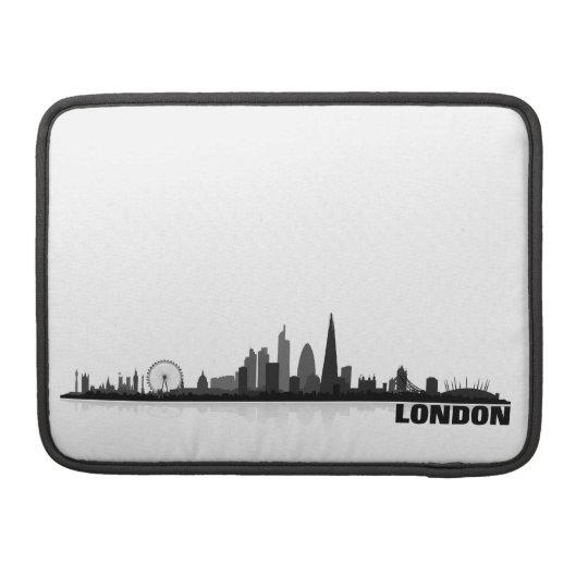 London Stadt Skyline - MacBook pro Sleeve
