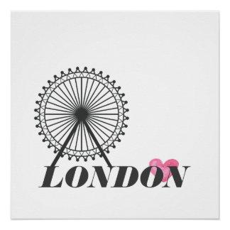 London-Stadtplakat Poster