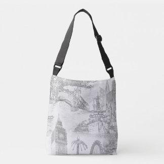 London-Taschen-Tasche - Tragetaschen Mit Langen Trägern