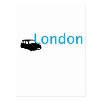 London-Taxi Postkarte